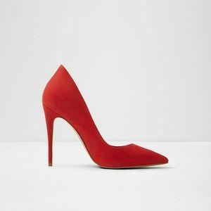 Cassedy sexy red stilettos